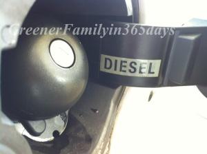 rouler en diesel