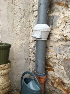 Extracteur d'eau de pluie