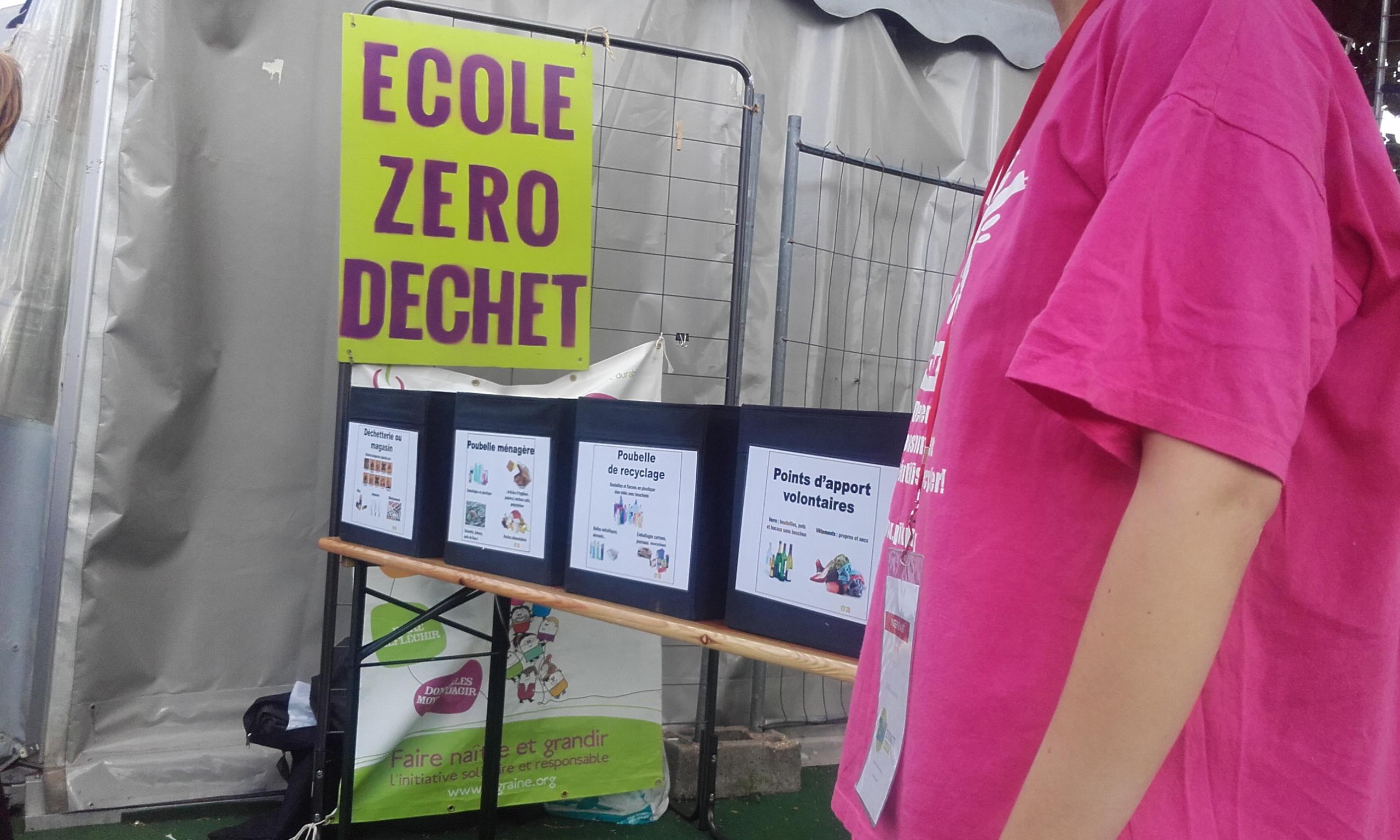 retour sur le festival zero waste la greener family. Black Bedroom Furniture Sets. Home Design Ideas